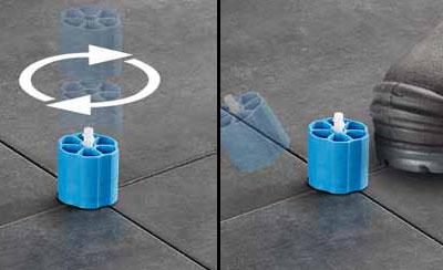 Tegel Leveling Systeem : Leveling systeem tegels u dikke houten balken
